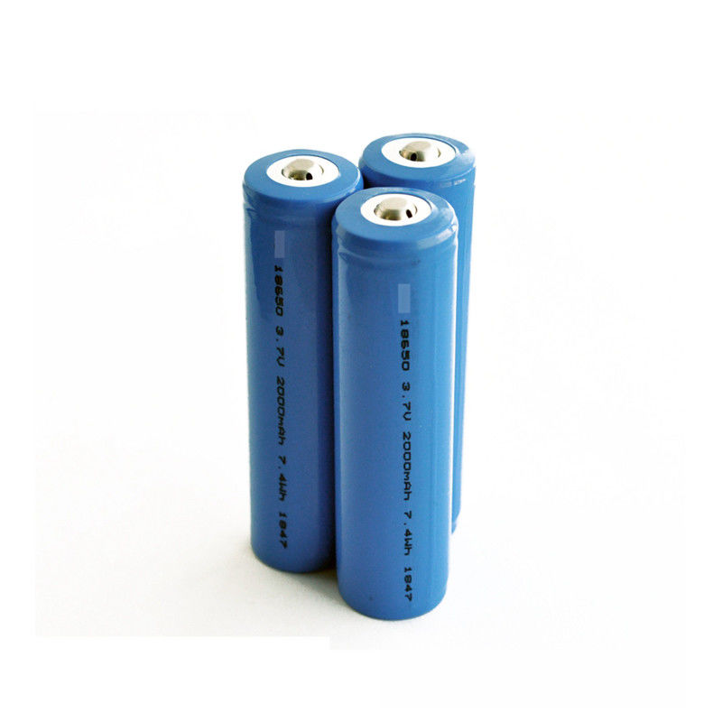 RoHS Icr 18650 Batterij 2500mah 3,7 V Li Ion Battery Cell With PCM